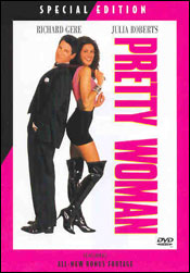 Pretty Woman DVD og Blu Ray